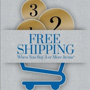 Other - Free shipping when you buy 3 or more items.